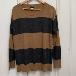 J.Crew lightweight striped sweater